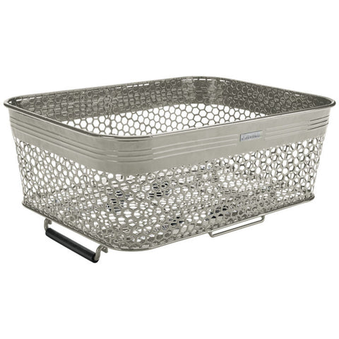 Quick Release Low Profile Basket w/ Cargo Net Graphite