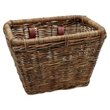 Rattan Rectangular Basket Brown