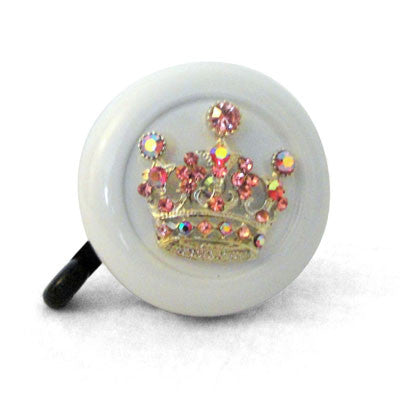 Princess White Bling Bell