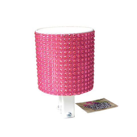 Soft Pink Rhinestone Cup Holder - Newport Cruisers