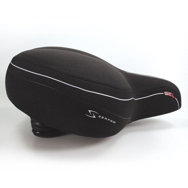 CRS-1 Full Suspension Extra Large Cruiser Saddle w/ Lycra Cover
