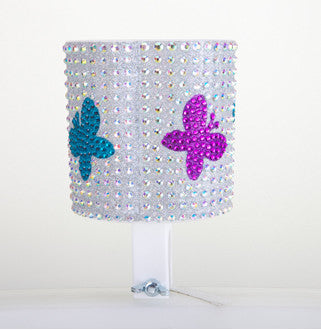 Butterfly Rhinestone Cup Holder - Newport Cruisers