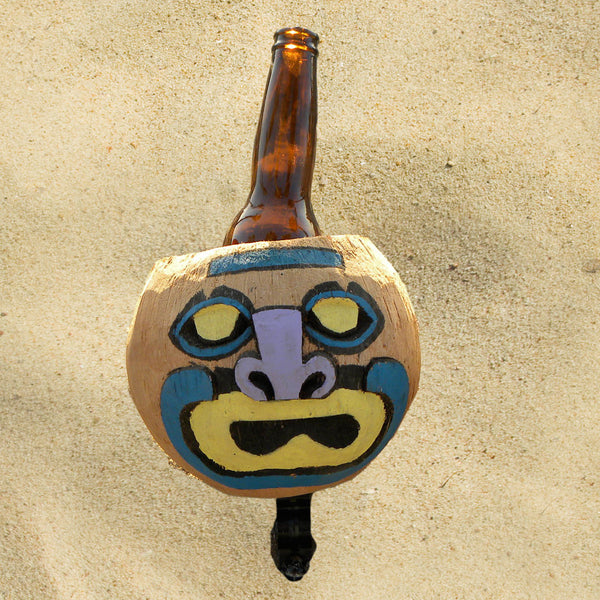 Coconut Cup Holder Mad Face - Newport Cruisers