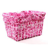 Pink Hawaiian Basket Liner - Newport Cruisers