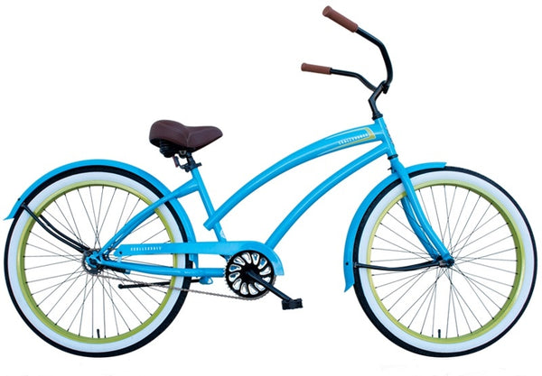 HBBC Skull X Bones - Women\'s Single Speed Beach Cruiser Bicycle ...