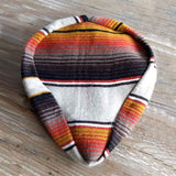 Mexican Blanket Seat Cover - Orange