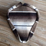 Serape  Seat Cover - Brown/Black - Newport Cruisers