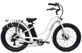 Tahoe Classic Fat Tire  Step Thru/ Electric Bike With  Battery Upgrade to a 21 Amp. 70 Mile range in perfect conditions:)