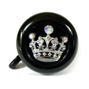 Black Princess Bling Bell
