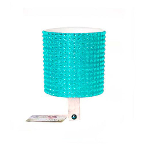 Blue Rhinestone Cup Holder