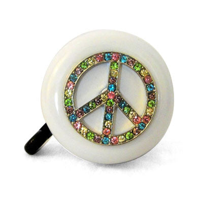 Rainbow Peace Bling Bell
