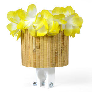 Yellow Tiki Cup Holder