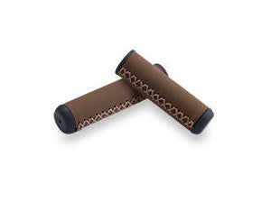 Hand-Stitched Grips Brown (1 Long, 1 Short)