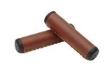 Hand-Stitched Grips Vintage Brown
