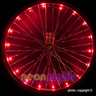 Wheel Lights Red - Newport Cruisers