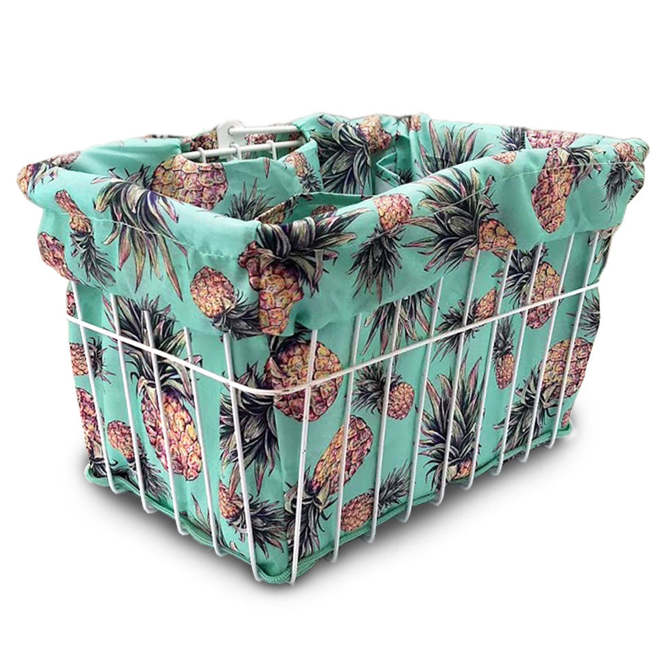 Pineapple Fantasy Basket Liner - Newport Cruisers