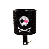 Skull Rhinestone Cup Holder - Newport Cruisers