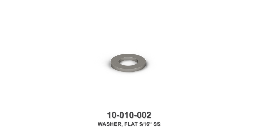 "Flat 5/16"" Stainless Steel Washer"