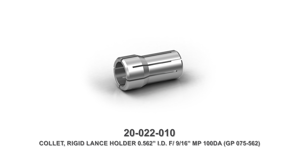 "Rigid Lance Holder 0.562 I.D. F/9/16"" MP Collet"