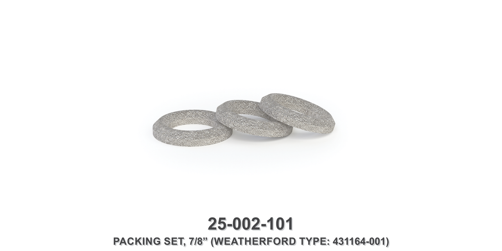 "7/8"" Packing Set - Weatherford Type"