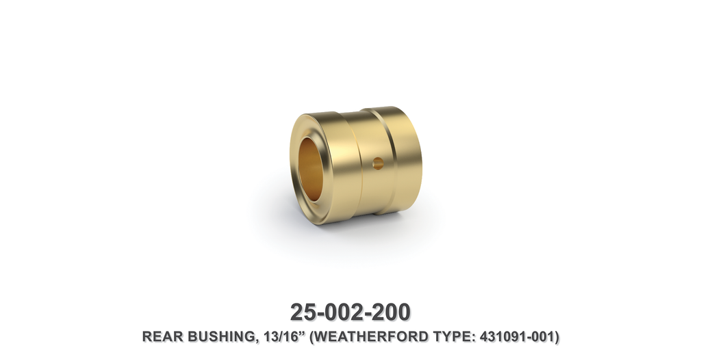 "13/16"" Rear Bushing - Weatherford Type"