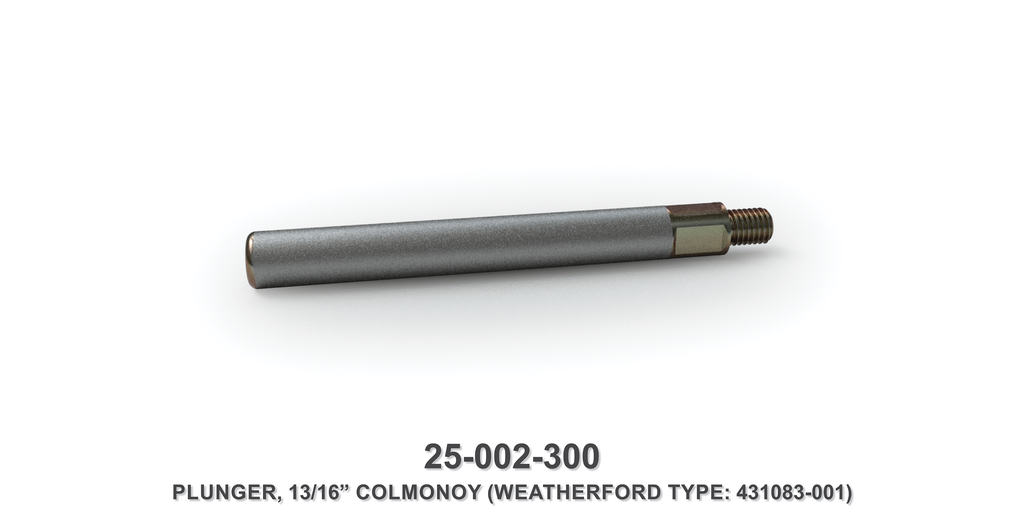 "13/16"" Colmonoy Plunger - Weatherford Type"