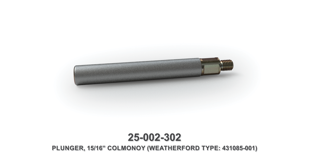 "15/16"" Colmonoy Plunger - Weatherford Type"