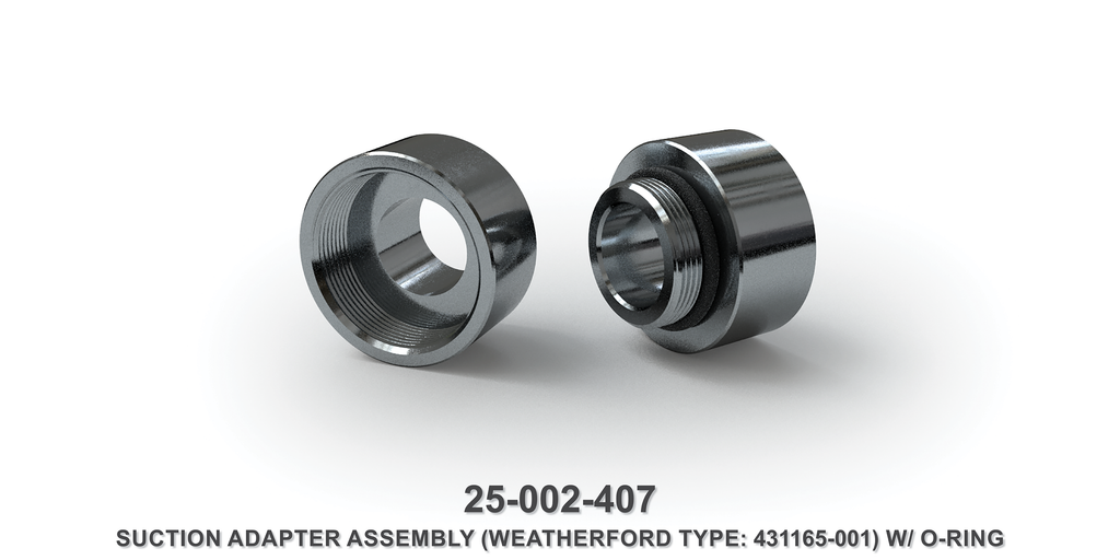 Suction Adapter Assembly - Weatherford Type