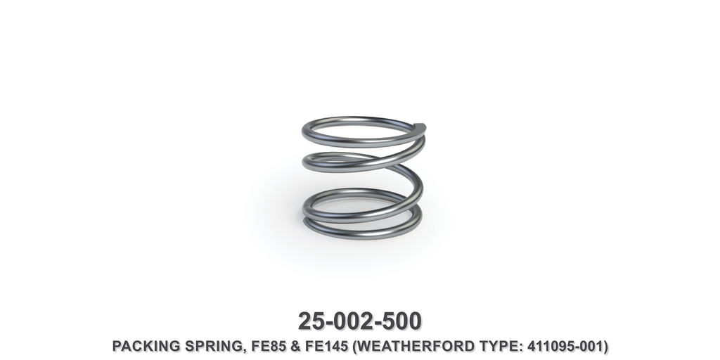 Packing Spring - Weatherford Type