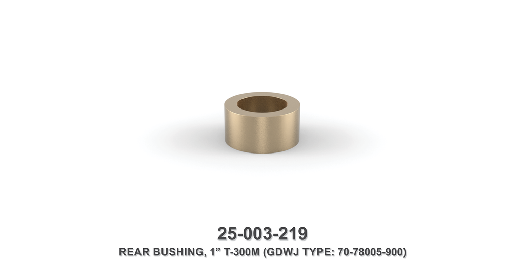 "1"" Rear Bushing - Gardner Denver / Butterworth Type"