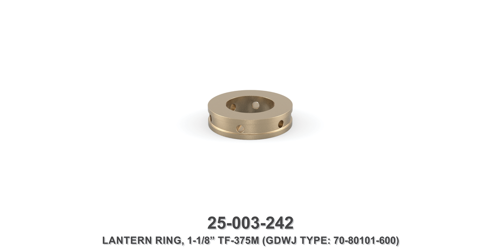 "15K 1-1/8"" TF-375M Lantern Ring - Gardner Denver / Butterworth Type"