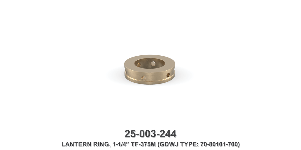 "15K 1-1/4"" TF-375M Lantern Ring - Gardner Denver / Butterworth Type"