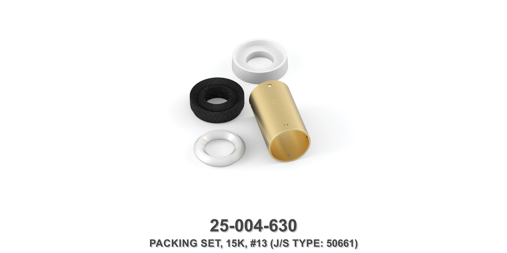 15K Packing Set - Size 13 Plunger - Jetstream Type