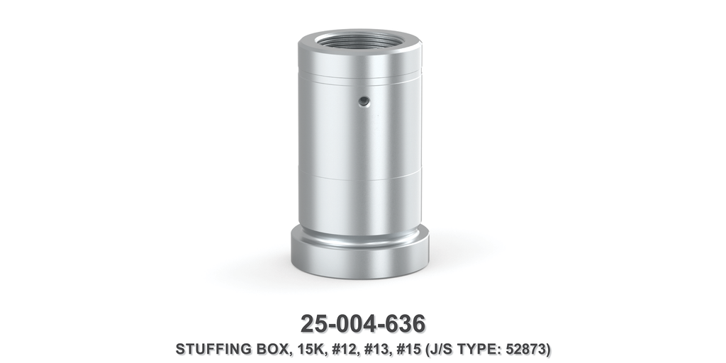 15K Stuffing Box - Size 12, 13 & 15 Plungers - Jetstream Type