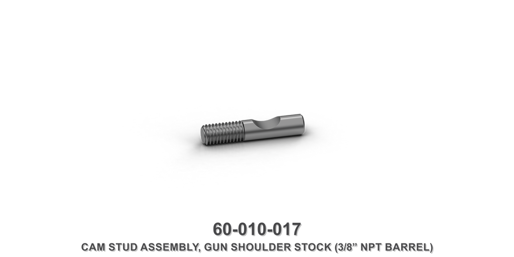Gun Shoulder Stock Cam Stud Assembly