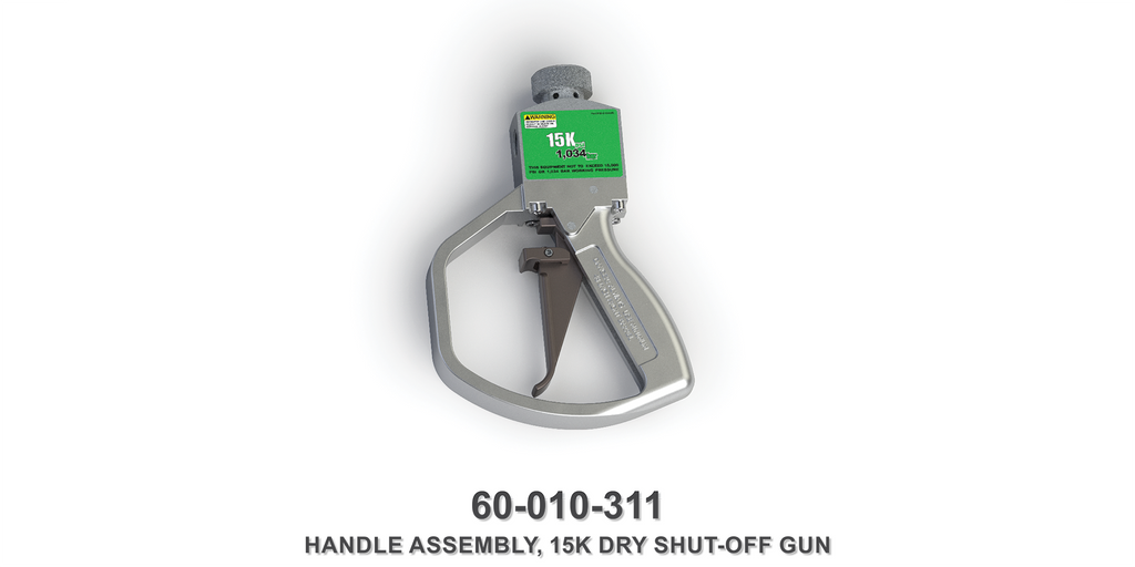 15K Dry Shut-Off Gun Handle