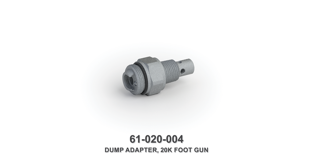 20K Foot Gun Dump Adapter