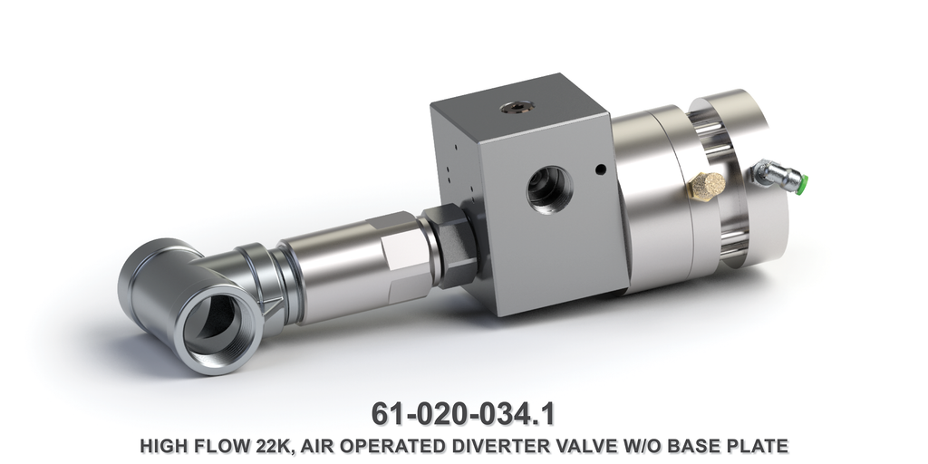 20K High Volume Air Diverter Valve without Base Plate