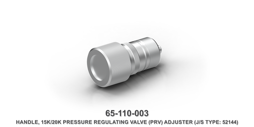 15K/20K Pressure Regulating Valve Adjuster Handle