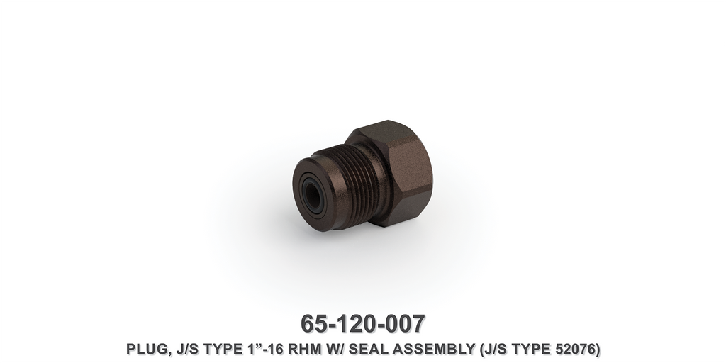 "1""-16 RHM Plug with Seal Assembly"