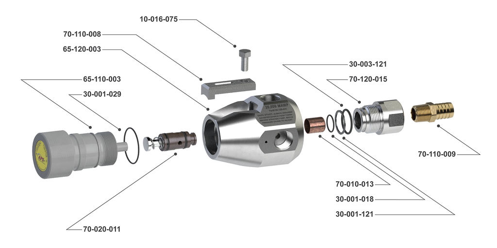 20K Pressure Regulating Valve