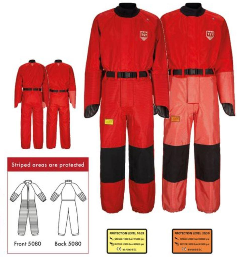 TST-Sweden Overalls with Hand Protection