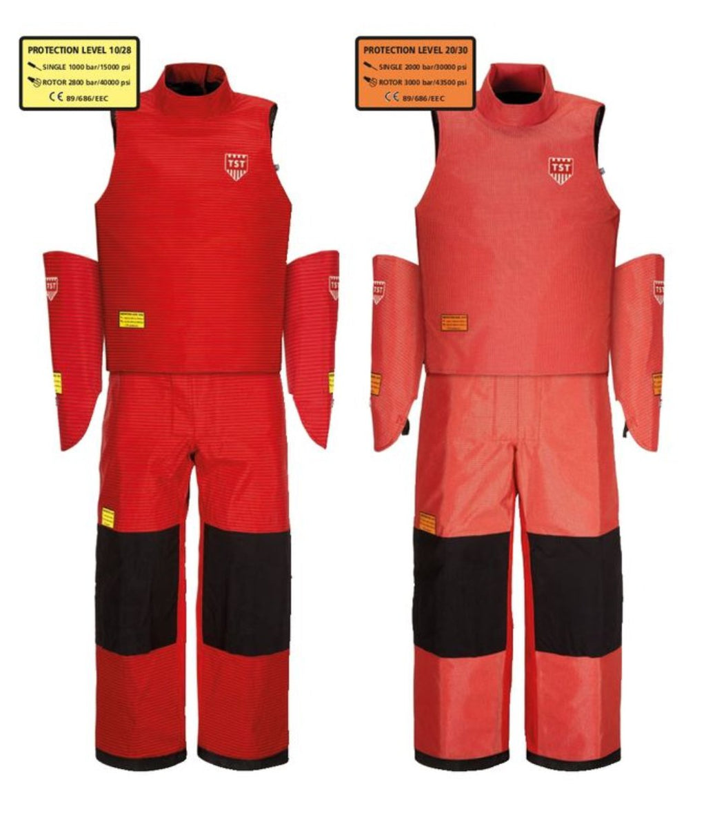TST-Sweden Delta Complete Kit - Waistcoat, Trousers and Hand Protection