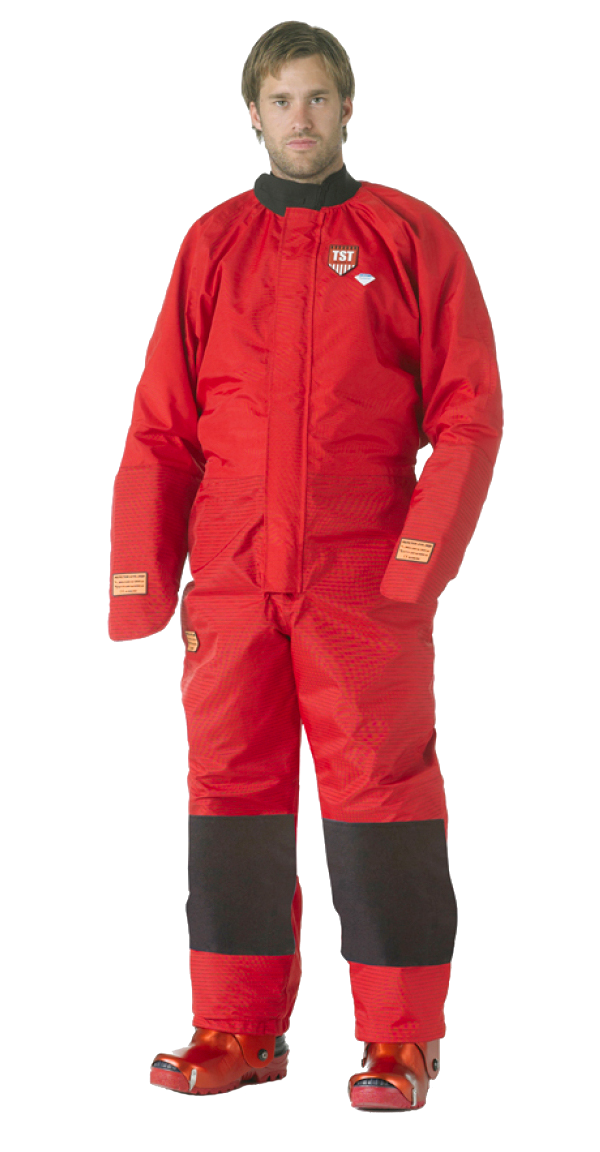 TST-Sweden Overall with Hand Protection