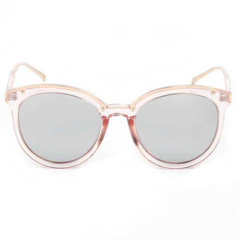 CAIRNS SUNGLASS CLEAR PINK
