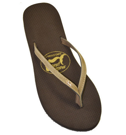 Malibu Jane comfortable flip flop Calistoga Sepia/Brown