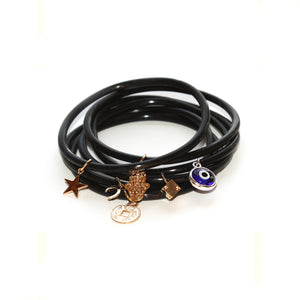 GOOD LUCK CHARM TUBE JELLIES BRACELET STACK