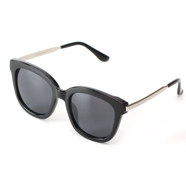 NAPLES SUNGLASS IN BLACK