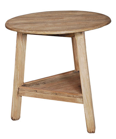 Solid Elm Round Table