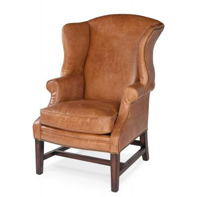 Leather 'Cologne' Chair